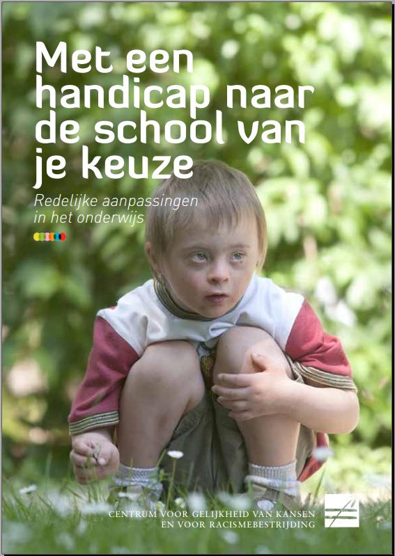 Brochure: Met een handicap naar de school van je keuze