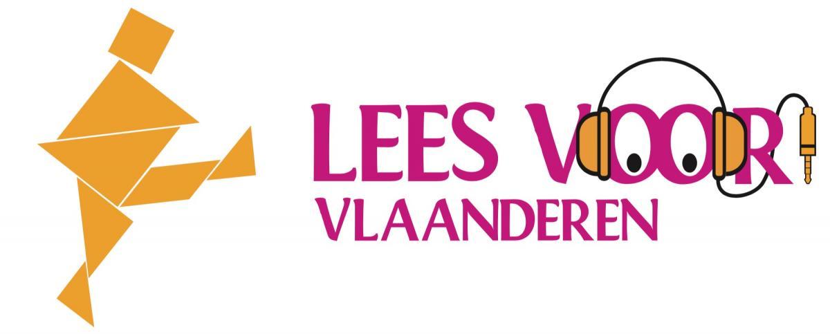 logo Leesvoor! Vlaanderen
